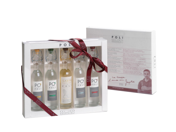 Poli Grappa 5 x 10cl Baby Pack 40% 50cl