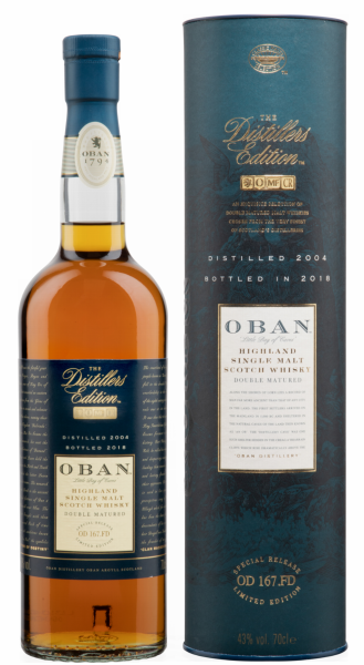 Oban Single Malt Distillers Edition 2005 14 J. 43% 70cl