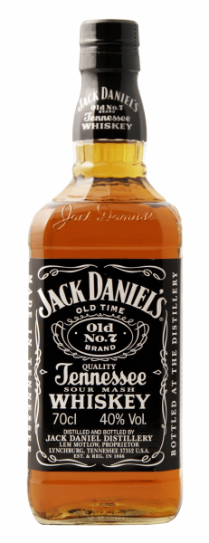 Jack Daniel's No 7 Tennesee Whiskey 40% 70cl