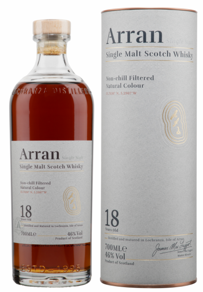 Arran Single Malt 18 J. 46% 70cl