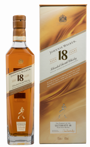 Johnnie Walker Ultimate 18 Years Sotch Whisky 18 J. 40% 70cl