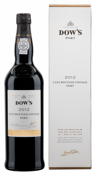 Dow's LBV Port 2012 20% 75cl