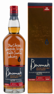 Benromach Cask Strength Single Malt 2009 58.8% 70cl