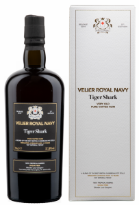 Habitation Velier Royal Navy Tiger Shark 14 J. 57.2% 70cl