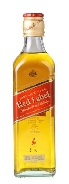 Johnnie Walker Red Label Blended Scotch Whisky 40% 35cl