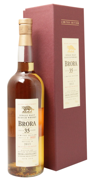 Brora Single Malt Special Release 2015 Cask Strength 1977 37 J. 50.4% 70cl