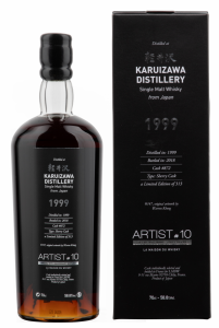 Karuizawa Artist Artist 10th Edition 1999 58.8% 70cl