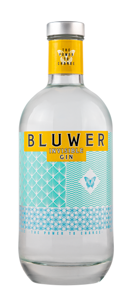 Bluwer Invisible Gin 37.5% 70cl