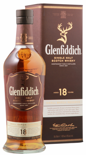 Glenfiddich Married In Small Batches Single Malt 18 J. 40% 70cl