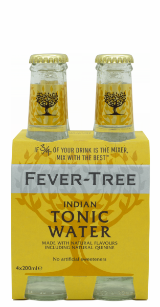 Fever-Tree Tonic Water EW Glas 4er-Pack 20cl