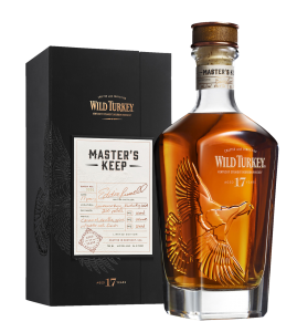 Wild Turkey Master's Keep Straight Bourbon 17 J. 43.4% 75cl