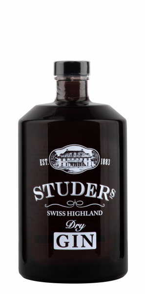 Studer's Swiss Highland Dry Gin 42.4% 70cl