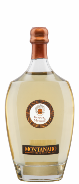 Mario Montanaro Grappa di Moscato Barrica Belly Beauty 40% 70cl