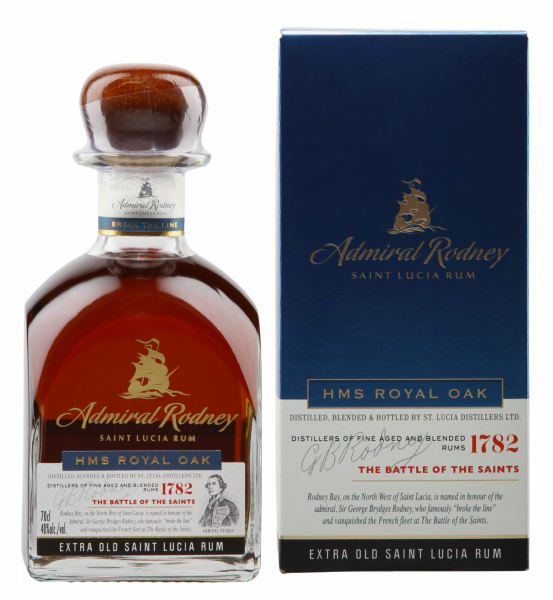 Admiral Rodney Extra Old Rum HMS Royal Oak 40% 70cl