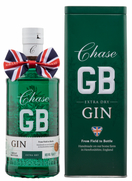 """Williams Chase Extra Dry """"GB"""" Gin 40% 70cl"""