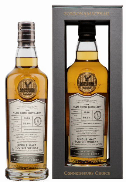 Glen Keith Single Malt Gordon & Macphail Connisseurs Choice 1998 56.9% 70cl