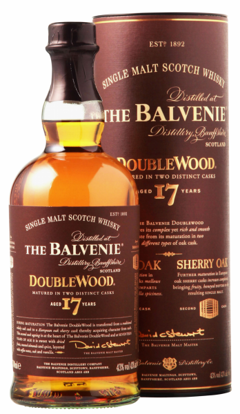 Balvenie Single Malt Double Wood 17 J. 43% 70cl