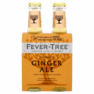 Fever-Tree Ginger Ale EW Glas 4er-Pack 20cl