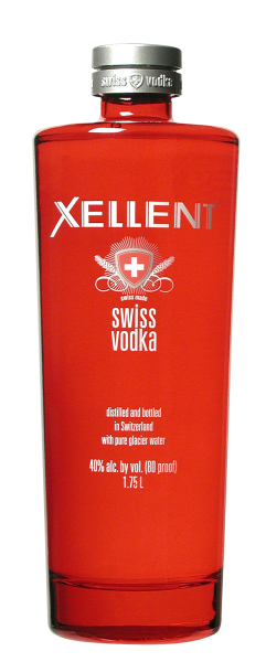 Xellent Swiss Vodka 40% 175cl