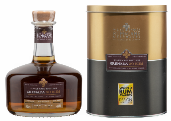 Rum & Cane Grenada XO Single Cask 46% 70cl