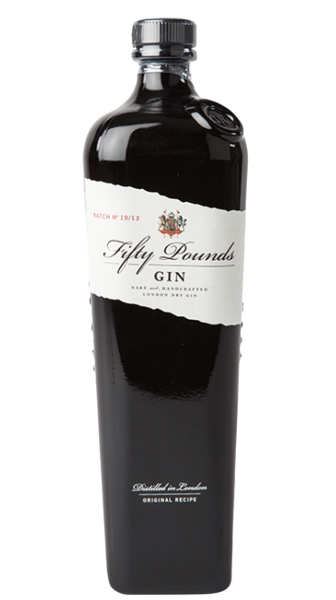 Fifty Pounds London Dry Gin 43.5% 70cl