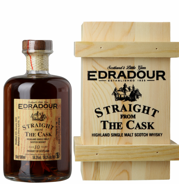 Single Malt Sherry Wood Straight from the Cask