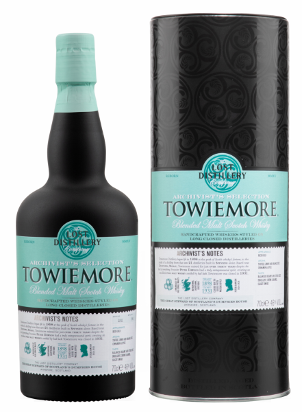 The Lost Distillery Towiemore Archivist Blended Malt 46% 70cl