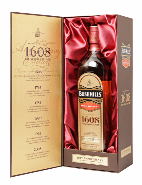 Bushmills Irish Whiskey 400th Anniversary 46% 75cl