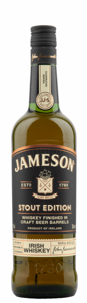 Jameson Stout Edition Irish Whiskey 40% 70cl