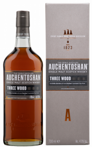 Auchentoshan Single Malt Three Wood 43% 70cl