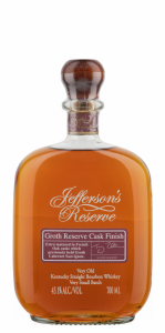 Jefferson's Groth Cask Reserve Bourbon 45.1% 70cl