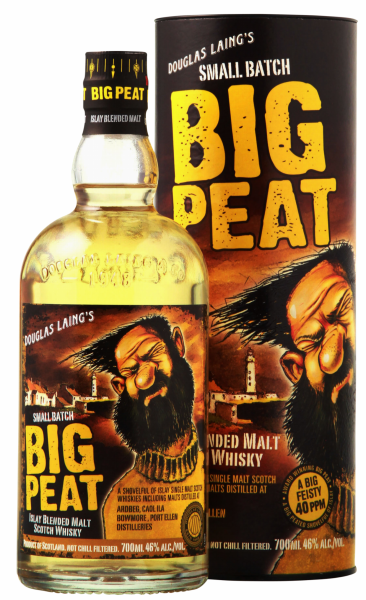 Douglas Laing Big Peat Small Batch Islay Blended Malt Whisky 46% 70cl