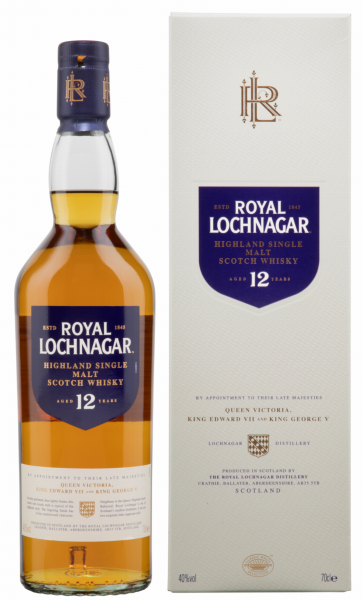 Royal Lochnagar Single Malt 12 J. 40% 70cl