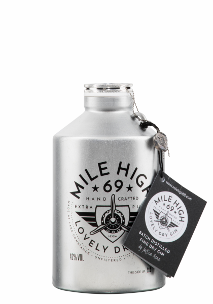 Mile High 69 Dry Gin 42% 50cl