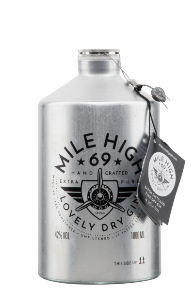 Mile High 69 Dry Gin 42% 100cl