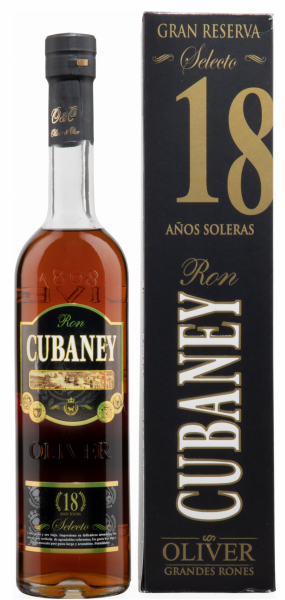 Ron Cubaney Selecto 18 18 J. 38% 70cl