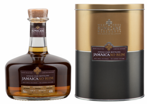 Rum & Cane Central Jamaica XO Single Cask 46% 70cl