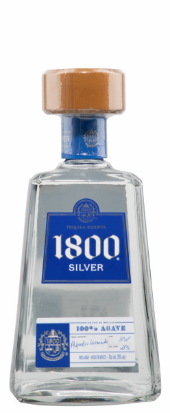 Cuervo Tequila 1800 Silver 38% 70cl