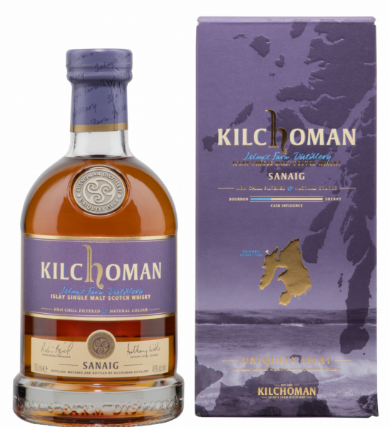 Kilchoman Sanaig Single Malt 46% 70cl
