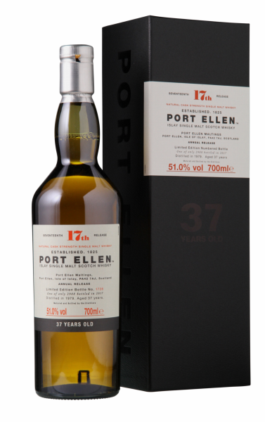 Port Ellen Special Release 2017 Cask Strength Single Malt 1979 37 J. 51% 70cl