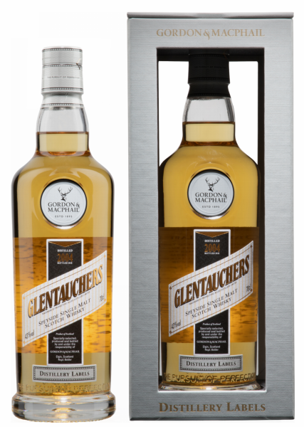 Glentauchers Single Malt Gordon & Macphail Distillery Labels 2004 43% 70cl