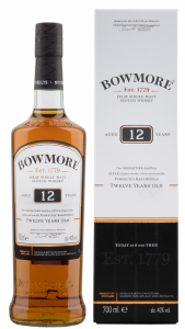 Bowmore Single Malt 12 J. 40% 70cl