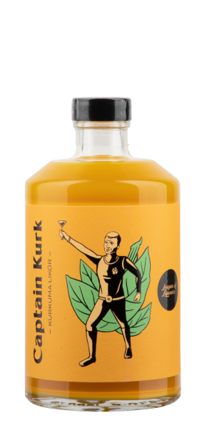 League of Liqueurs Captain Kurk Kurkuma Likör 21% 50cl