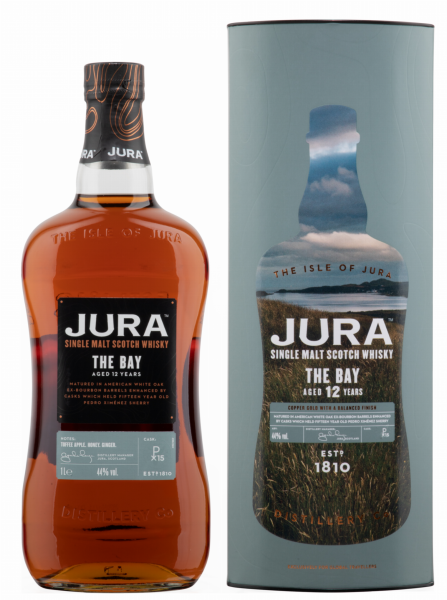Isle of Jura Single Malt The Bay 12 J. 44% 100cl