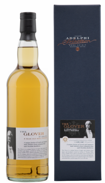 Adelphi The Glover Batch 5 Blended Malt Whiskey 4 J. 54.7% 70cl