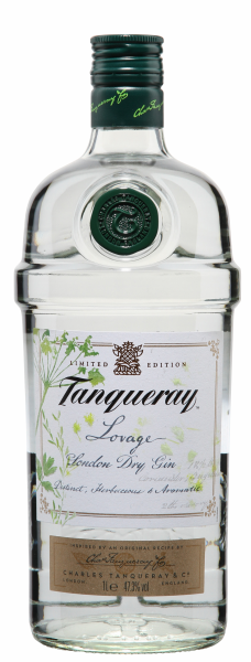 Tanqueray London Dry Gin Lovage 47.3% 100cl