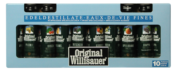 Willisau Portionen assortiert 10 x 2cl 37.5% 20cl