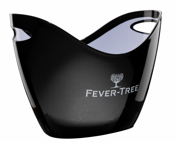 Fever-Tree Eisbehälter oval gross schwarz