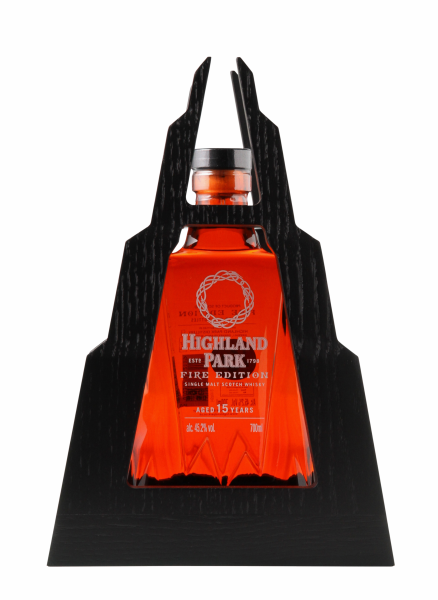 Highland Park Fire Single Malt 15 J. 45.2% 70cl