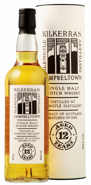 Glengyle Single Malt Kilkerran 12 J. 46% 70cl